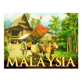 Malaysia - Bullock Cart Post Cards