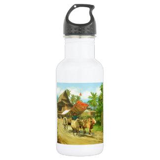 Malaysia - Bullock Cart Stainless Steel Water Bottle