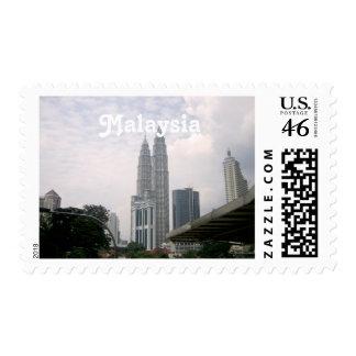 Malaysia Cityscape Postage