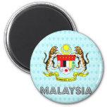 Malaysia Coat of Arms Fridge Magnets