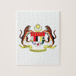 Malaysia Coat of Arms Jigsaw Puzzles
