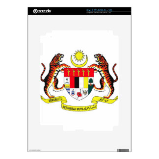 Malaysia Coat of Arms Decal For The iPad 2