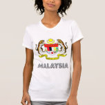 Malaysia Coat of Arms T Shirts