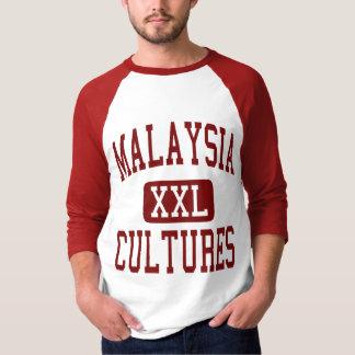 Malaysia Cultures Maroon Tee Shirt