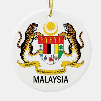 MALAYSIA - emblem/flag/symbol/coat of arms Christmas Ornaments