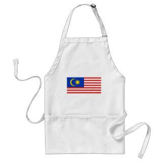 Malaysia Flag Adult Apron