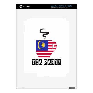 Malaysia Flag Designs Skin For iPad 3