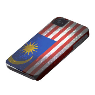 Malaysia Flag Firework Case-Mate iPhone 4 Cases