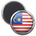 Malaysia Flag Glass Ball Fridge Magnet