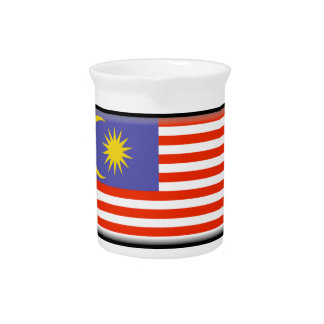 Malaysia Flag Beverage Pitchers