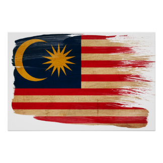 Malaysia Flag Posters