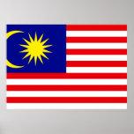 Malaysia Flag Print