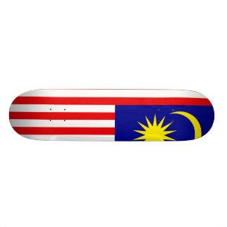 Malaysia Flag Skateboard Deck