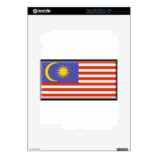Malaysia Flag Skin For The iPad 2