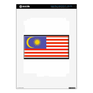 Malaysia Flag Decal For iPad 3