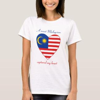 Malaysia Flag Sweetheart T-Shirt