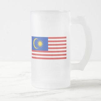 malaysia frosted glass beer mug