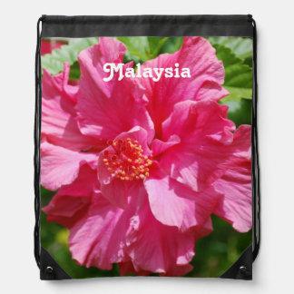 Malaysia Hibiscus Backpacks