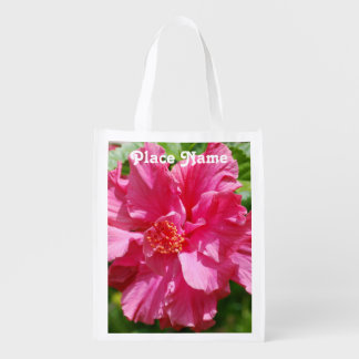 Malaysia Hibiscus Grocery Bag