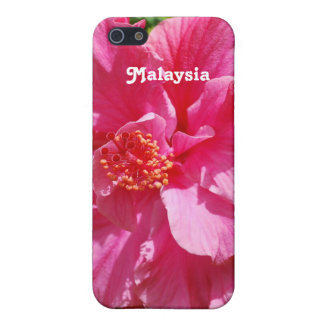 Malaysia Hibiscus iPhone 5/5S Covers