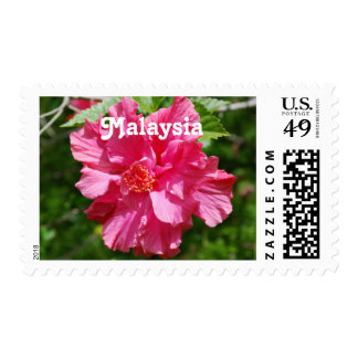 Malaysia Hibiscus Stamps