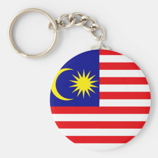 Malaysia High quality Flag Basic Round Button Keychain