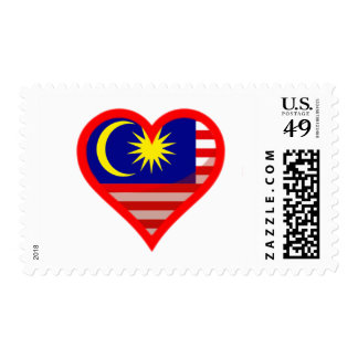 Malaysia Love Postage