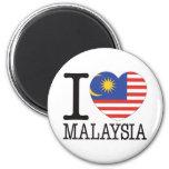 Malaysia Love v2 Refrigerator Magnets