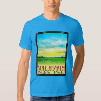 Malaysia - Paddy Field T Shirt