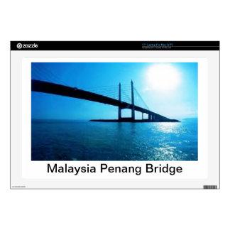 "Malaysia Penang Bridge Skins For 17"" Laptops"