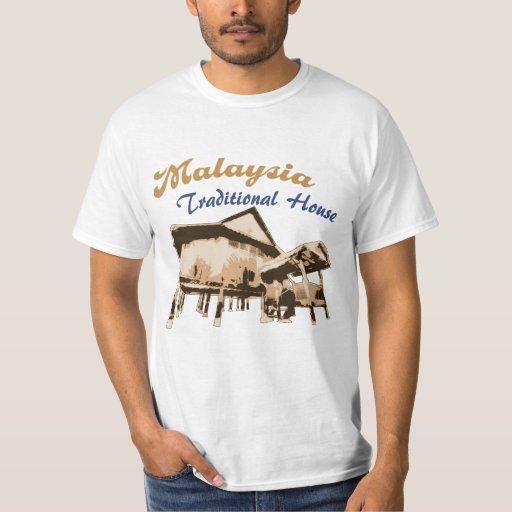 Malaysia Traditional House T Shirts