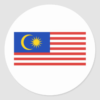 Malaysiaku Round Stickers