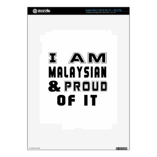 MALAYSIAN DESIGNS iPad 3 SKINS