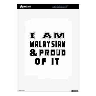 MALAYSIAN DESIGNS iPad 2 SKIN