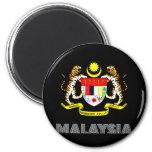 Malaysian Emblem Refrigerator Magnet