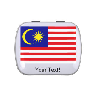 Malaysian Flag Jelly Belly Tin