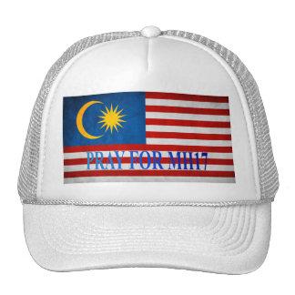 Malaysian Flag: pray for MH17 Trucker Hat