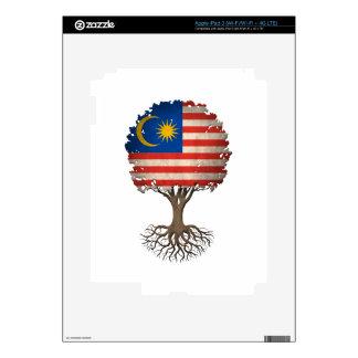 Malaysian Flag Tree of Life Customizable iPad 3 Skins