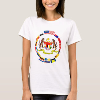 Malaysian Flags with Arms T-Shirt