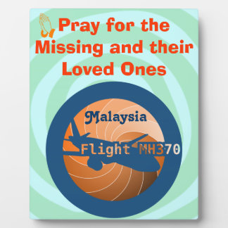 Malaysian flight plaque