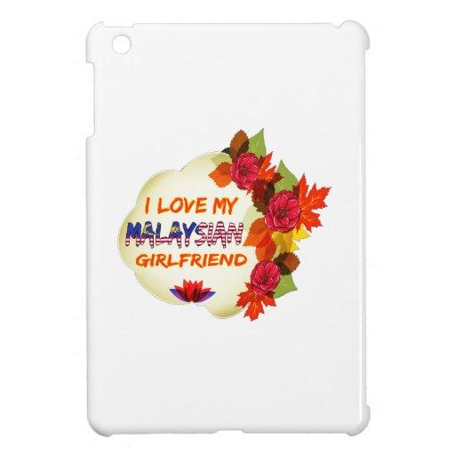 Malaysian Girlfriend designs iPad Mini Cover