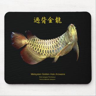 Malaysian Golden Arowana Mouse Pad