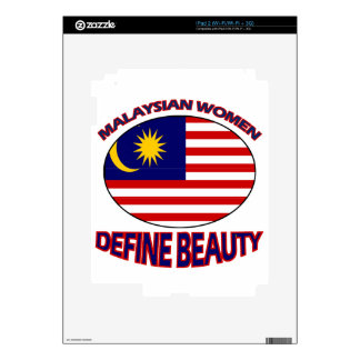 malaysian women designs skins for the iPad 2