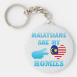Malaysians are my Homies Keychain