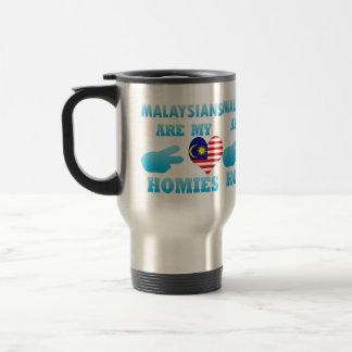 Malaysians are my Homies 15 Oz Stainless Steel Travel Mug
