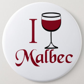 Malbec Wine Lover Gifts Button
