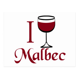 Malbec Wine Lover Gifts Postcard