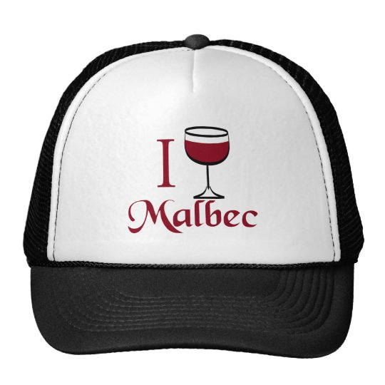Malbec Wine Lover Gifts Trucker Hat