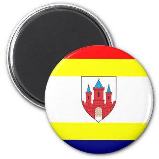 Malbork, Poland flag Fridge Magnet