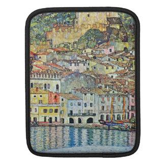 Malcena at the Gardasee by Gustav Klimt iPad Sleeve